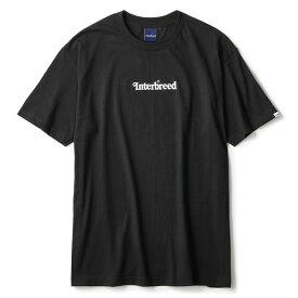 インターブリード Tシャツ メンズ レディース INTERBREED Archive Logo S/S Tee 半袖 ロゴTシャツ ストリート ブランド ロゴ プリント ブラック 送料無料 M-XXL IB19AW-01