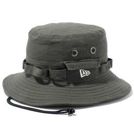ニューエラ ハット メンズ レディース NEW ERA アドベンチャー HAT 帽子 サファリハット new era メンズハット ロゴ 刺繍 newera ぼうし メンズ帽子 アウトドア 登山 プレゼント ダックコットン オリーブ S-XL 11136058