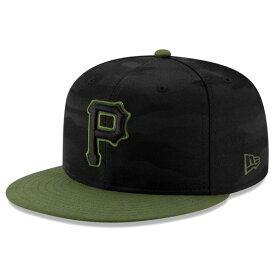 ニューエラ キャップ 送料無料 メンズ レディース NEW ERA 59FIFTY MLB オンフィールド ピッツバーグ・パイレーツ オルタネイト3 ニューエラキャップ newera cap 帽子 おしゃれ 吸汗速乾性 紫外線防御 ブラックカモ/オリーブバイザー 55.8cm〜63.5cm 12026658