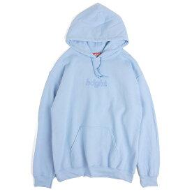 ヘイト パーカー メンズ レディース 送料無料 HAIGHT 3D Round Logo Hoodie ラウンドロゴ フーディ プルオーバー おしゃれ ストリート ブランド LIGHT BLUE ライトブルー S-XXL HT-W183004