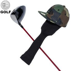 ニューエラ ゴルフ ヘッドカバー メンズ レディース NEW ERA フラッグロゴ ワンサイズ ウッドランドカモ/ブラック 11901509