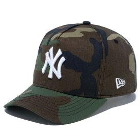 ニューエラ キャップ 送料無料 メンズ レディース NEW ERA 9FORTY D-Frame ニューヨーク・ヤンキース ニューエラキャップ newera cap 帽子 おしゃれ プレゼント ウッドランドカモ/スノーホワイト 55.8cm〜59.6cm 12018973