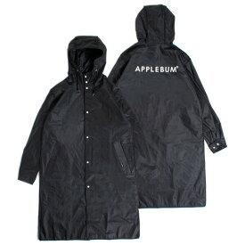 アップルバム ジャケット メンズ APPLEBUM Rain Coat レインコート 防水 ブラック ワンサイズ 1911015