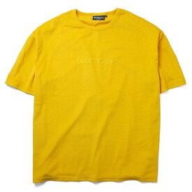 インターブリード Tシャツ INTERBREED Pile Resort S/S Tee パイル生地 半袖 イエロー M-XL IB19SS-26