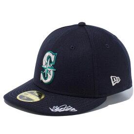 ニューエラ キャップ メンズ レディース 送料無料 NEW ERA LP 59FIFTY Ichiro Exclusive イチロー シアトル・マリナーズ フィテッド newera CAP 帽子 ぼうし ワンポイント 刺繍 プレゼント ネイビー/マルチカラー 12353355