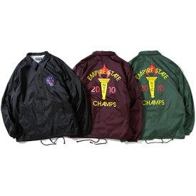プリビレッジ コーチジャケット メンズ レディース ユニセックス 送料無料 PRIVILEGE Empire State Game Coach Jacket アウター ジャケット ストリート アメカジ ニューヨーク ブランド 全3色 M-XXL PV19AW19