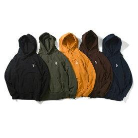ラファイエット パーカー メンズ レディース ユニセックス 送料無料 LAFAYETTE LF Logo US Cotton Hooded Sweatshirt ストリート ブランド プルオーバー フーディ 全5色 S-XXL LA190508