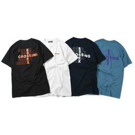 プリビレッジ 半袖 Tシャツ メンズ レディース ユニセックス 送料無料 PRIVILEGE Essex Crossing Tee ストリート アメカジ ブランド 半そで ティーシャツ 男女兼用 全4色 S-XXL PV19AW05