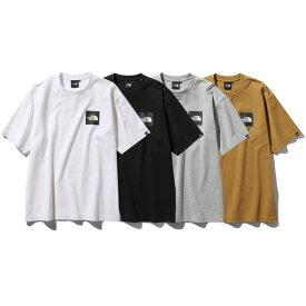 ノースフェイス Tシャツ メンズ レディース 送料無料 THE NORTH FACE ショートスリーブスクエアロゴティー S/S Square Logo Tee ストリート ブランド 半袖 tシャツ ティーシャツ ユニセックス ロゴ クルーネック プレゼント 全4色 S-XXL NT81930