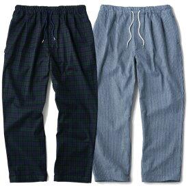 インターブリード パンツ メンズ 送料無料 INTERBREED PATTERNED PAJAMA PANTS interbreed パジャマパンツ ストリート プレゼント おしゃれ ブラックウォッチ ヒッコリー 全2色 M-XXL IB20SS-13