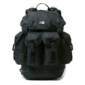 ニューエラ バッグ メンズ レディース 送料無料 NEW ERA ユーティリティ4ポケットパック 40L newera リュック デイパック おしゃれ 通勤 通学 プレゼント ブラック ワンサイズ 12325608