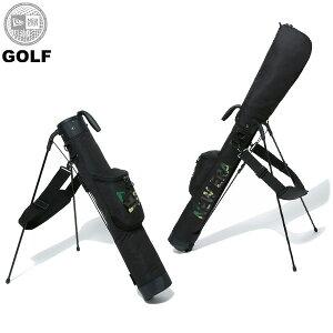ニューエラ ゴルフ メンズ レディース 送料無料 NEW ERA セルフスタンドケース クラブケース 47インチクラブ対応 ブラック/ウッドランドカモ ワンサイズ 12325912
