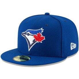ニューエラ キャップ 送料無料 メンズ レディース NEW ERA 59FIFTY MLB オンフィールド トロント・ブルージェイズ ゲーム ニューエラキャップ newera cap 帽子 吸汗速乾性 紫外線防御 おしゃれ プレゼント ブルー 55.8cm〜63.5cm 11449331