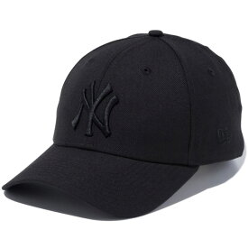 ニューエラ キャップ 送料無料 メンズ レディース NEW ERA 9FORTY ニューヨーク・ヤンキース ベルクロストラップ ニューエラキャップ newera cap 帽子 おしゃれ プレゼント ブラック/ブラック 56.8cm〜60.6cm 12336643