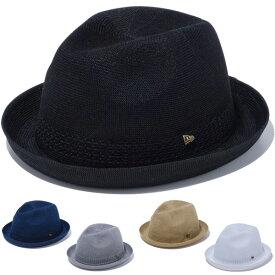 ニューエラ ハット メンズ レディース 送料無料 NEW ERA フェドーラ ニット 中折れハット HAT newera cap 帽子 おしゃれ プレゼント 全5色 M-XL 12326037 12326039 12326040 12326041 12326042