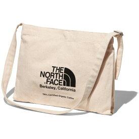ノースフェイス トートバッグ メンズ レディース 送料無料 THE NORTH FACE ミュゼットバッグ Musette Bag トート バッグ ショルダーバッグ northface ロゴ オーガニックコットン ナチュラル/ブラック ワンサイズ NM82041