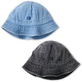 インターブリード ハット 送料無料 INTERBREED WASHED DENIM IB BOWL HAT 帽子 ボウル型ハット ウォッシュドデニム interbreed おしゃれ プレゼント 全2色 M-L IB20AW-13