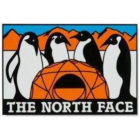 ノースフェイス ステッカー THE NORTH FACE TNF Print Sticker アンタークティカ ワンサイズ NN32121