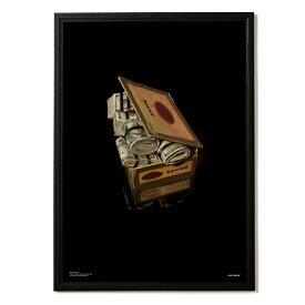 APPLEBUM アップルバム ポスター Cash Cigarbox $ A1 Poster applebum 濱口健 A1サイズ グラフィック ストリート カジュアル インテリア メンズ レディース おしゃれ プレゼント マルチカラー 2121001