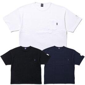 APPLEBUM アップルバム tシャツ applebum 鹿の子 BIG T-SHIRT 半袖 Tシャツ ポケット付き ビッグシルエット ゆったり 送料無料 おしゃれ プレゼント 全3色 M-XL 2111102