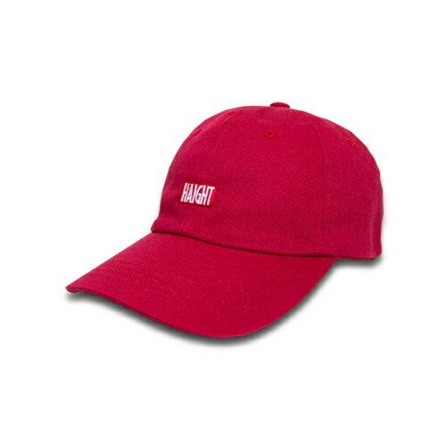 【 HAIGHT ball cap / Red 】 ( haight ヘイト ボール キャップ )