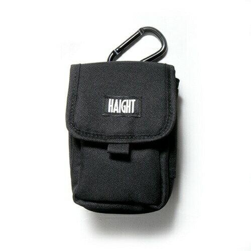 【 HAIGHT MULTI POUCH BLACK 】 ( haight ヘイト マルチ ポーチ バッグ POUCH BAG vape ベイプ )
