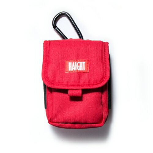 【 HAIGHT MULTI POUCH RED 】 ( haight ヘイト マルチ ポーチ バッグ POUCH BAG vape ベイプ )