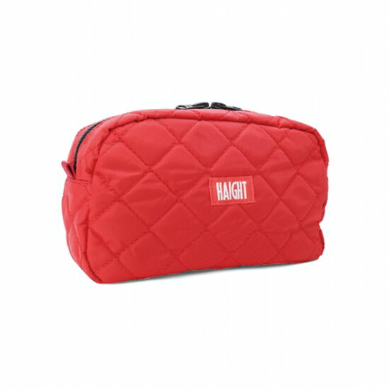 【 HAIGHT QUILTING POUCH (L) Red 】 ( haight ヘイト キルティング ポーチ バッグ Quilting POUCH BAG vape ベイプ )
