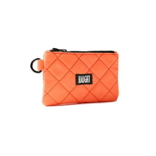 【 HAIGHT QUILTING POUCH (S) ORANGE 】 ( haight ヘイト キルティング ポーチ バッグ Quilting POUCH BAG vape ベイプ )