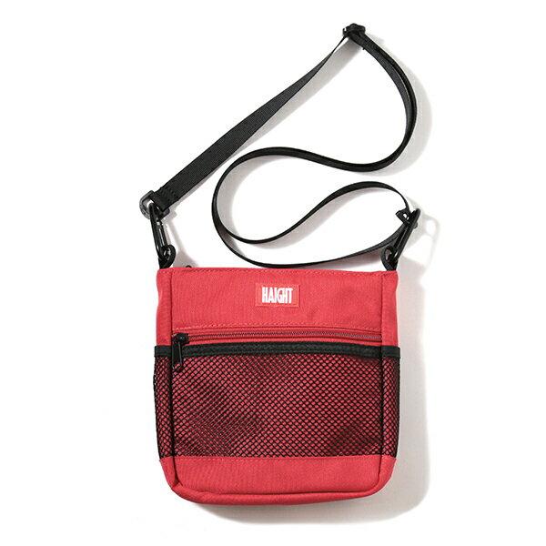 【 HAIGHT 2WAY SACOCHE Red 】 ( haight ヘイト サコッシュ バッグ 2way BAG vape ベイプ 電子タバコ 電子煙草 )