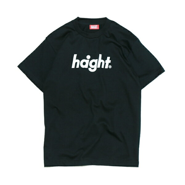 【 HAIGHT Round Logo T-Shirt BLACK 】 ( haight ヘイト t-shirt Tee Tシャツ ブラック 電子タバコ VAPE )