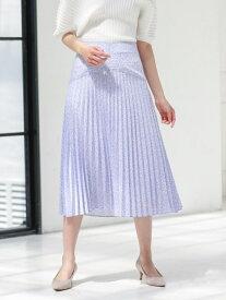 【SALE/50%OFF】ボタニカルプリントスカート CAST: キャスト コロン スカート ロングスカート パープル ホワイト【RBA_E】【送料無料】[Rakuten Fashion]