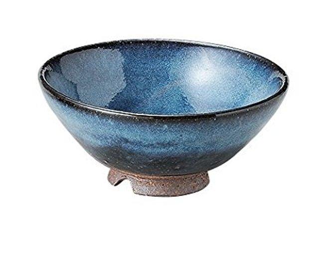 萩焼 山根清玩 青萩 飯茶碗 サイズ 12.5 x 6cm <ギフト プレゼント 贈答品 父の日 母の日 誕生日 お祝い お返し>