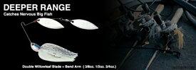 【ネコポス対象品】ノリーズ クリスタルエス・ディーパーレンジ3/4oz CRYSTAL S DEEPER RANGE 746 ブライトチャート(G/G)