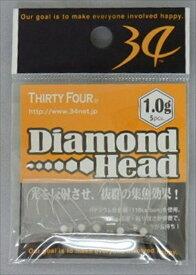 【9/25お買い物マラソン店内最大38倍】サーティフォー ダイヤモンドヘッド Diamond head 0.8g