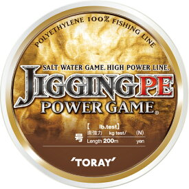 【お買い物マラソン エントリーで゛ポイントup】 東レ ジギングPE POWER GAME 1.5号(18lb) 【期間7/19 20:00〜7/26 01:59】