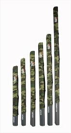 ABU(アブ) セミハードロッドケース2 ウッドランドカモ 140cm(2ピース8.6)