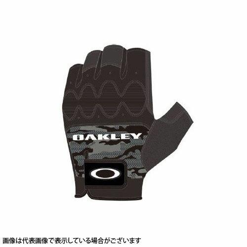 【スマホエントリーでポイント10倍★1/17 10:00〜1/24 9:59まで】Oakley(オークリー) HALF FINGER GLOVE 4.0 94294JP-00G BLACK PRINT L