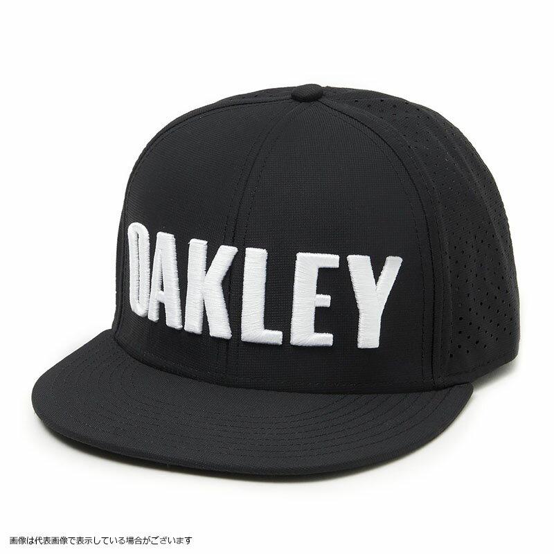 【店内全品エントリーでポイント3倍】Oakley(オークリー) OAKLEY PERF HAT 911702-02E BLACKOUT フリーサイズ【4/22(月)09:59まで】