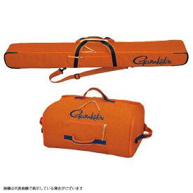 【10月20日限定エントリーで最大36倍】がまかつ GC281 ウルトラライトセット(ロッドケースとバッグセット) オレンジ