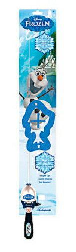 【エントリーでポイント10倍 1月1日(火) AM 9:59まで】ABU(ピュアフィッシング) ロッド ディズニー アナと雪の女王オラフライトキット