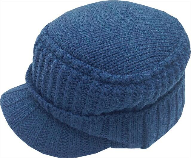 【店内全品エントリーでポイント3倍】【特価】ラパラ Knit & Fleece Visor Work Cap Navy【4/22(月)09:59まで】