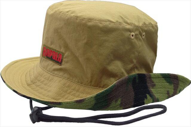 【店内全品エントリーでポイント3倍】【特価】ラパラ Taffeta & Camo Fleece Hat Khaki【4/22(月)09:59まで】