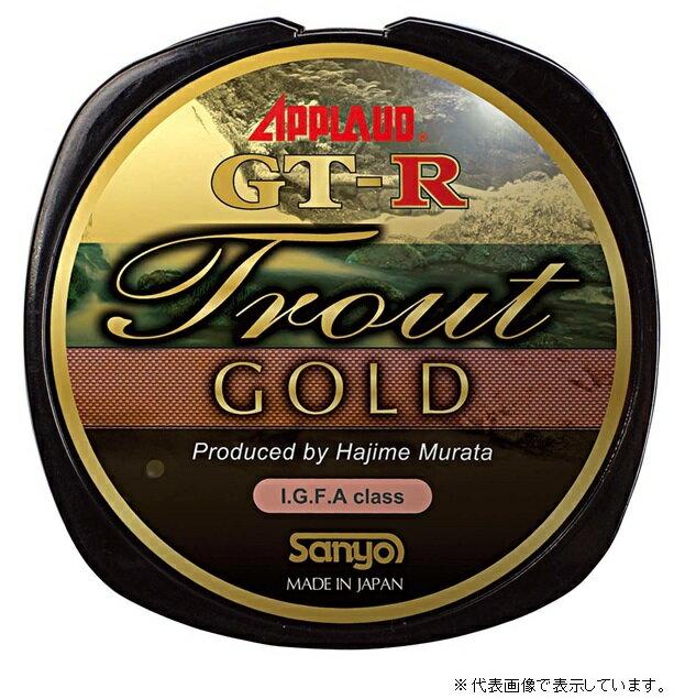 サンヨ−ナイロン GT−R トラウト ゴールド 300m 4LB シャンパンゴールド