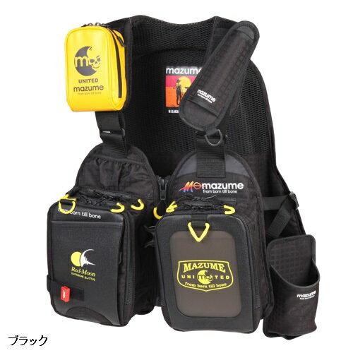 【casting_d】mazume(マズメ) レッドムーンライフジャケット サーフSP ブラック