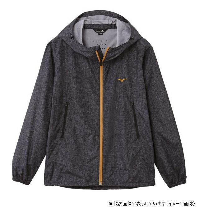 ミズノ デニムプリントジャケット XL ブラック