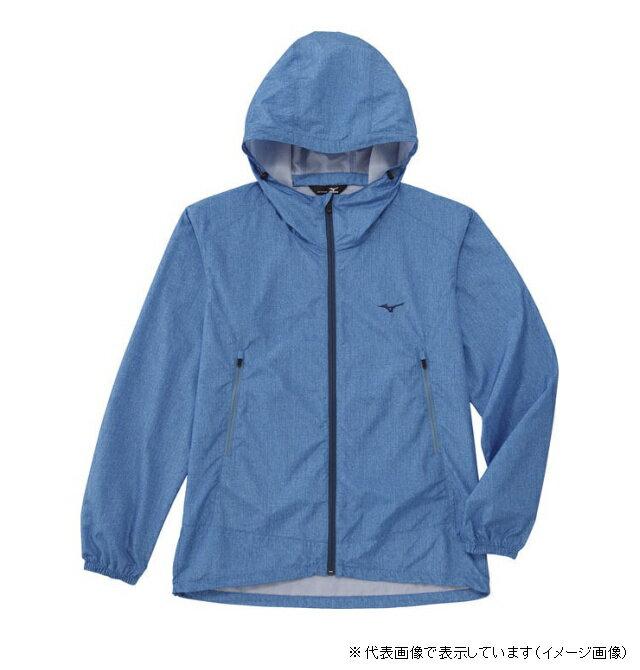 ミズノ デニムプリントジャケット XL サックス