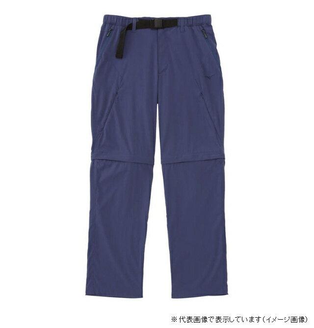 (訳有り) ミズノ エアロサイクルジップオフパンツ XL ブルーインディゴ (旧モデル)