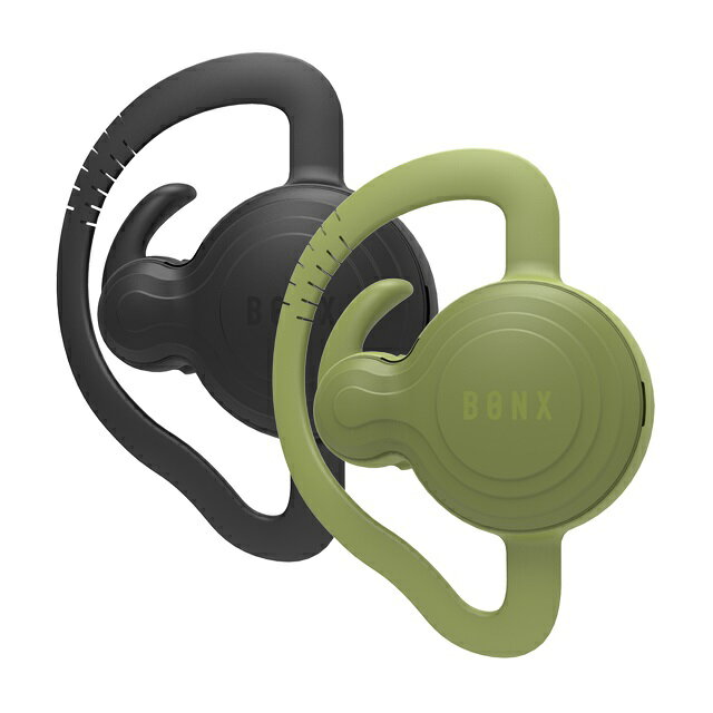 BONX(ボンクス) Grip BX2-MTBKGN1 2個パッケージ ブラック×グリーン