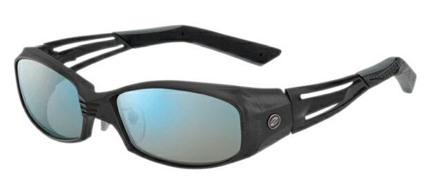 【店内全品エントリーでポイント3倍】ZEAL OPTICS ジールオプティクス 偏光サングラス VERO(ベロ) 2nd F-1324 オールマットブラック レンズ:トゥルービュー スポーツ/ブルーミラー【4/22(月)09:59まで】